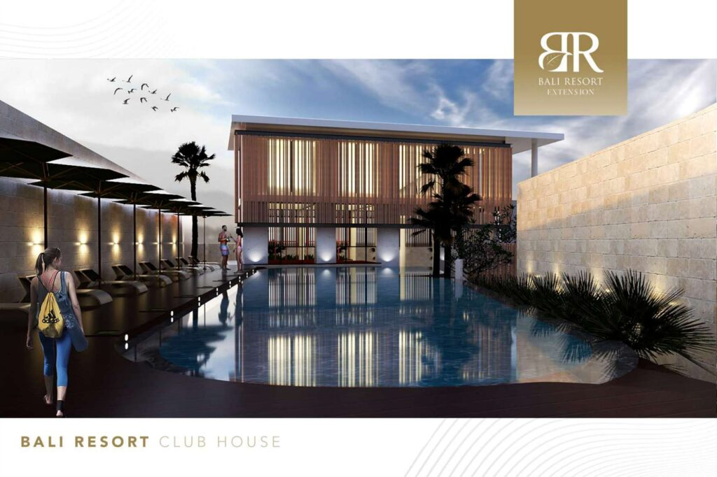clubhouse bali resort serpong extension